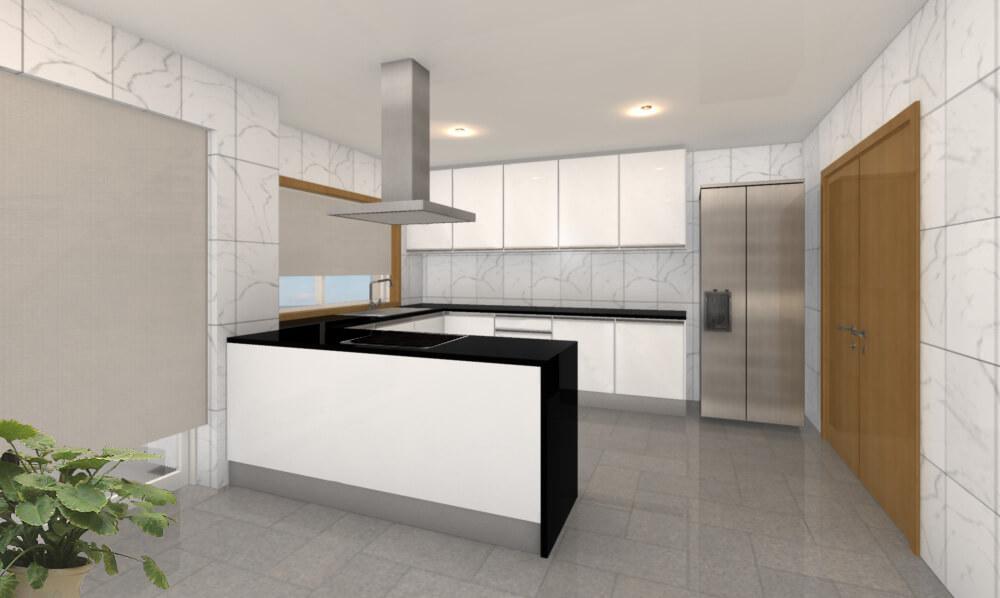 Cozinha T4 Duplex