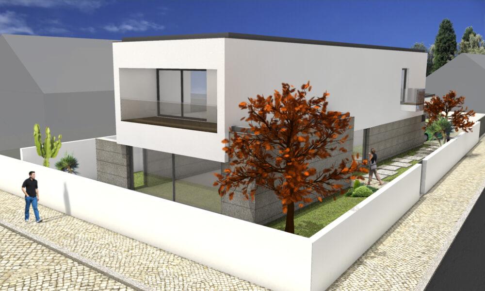 Moradia 4 Frentes Guilheta  Obras QB  Remodelação, renovação