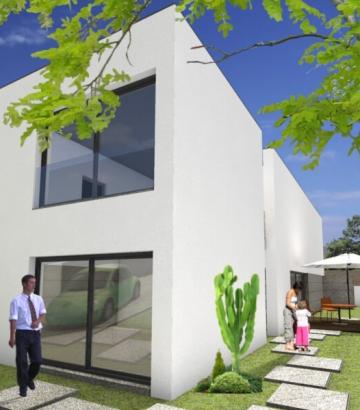 Arquitetura 3D Moradia Guilheta Esposende ObrasQB